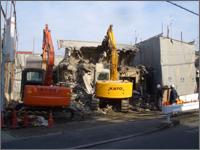 大東建設の解体工事1