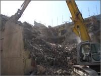 大東建設の解体工事2